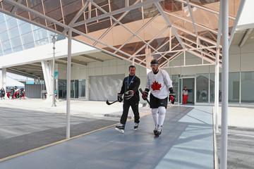Chris Kelly Around the Games: Day 0 - Winter Olympic Games
