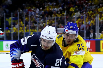 Chris Kreider Sweden vs. USA - 2018 IIHF Ice Hockey World Championship Semi Final