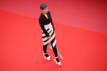 Chris Lee 'Yomeddine' Red Carpet Arrivals - The 71st Annual Cannes Film Festival