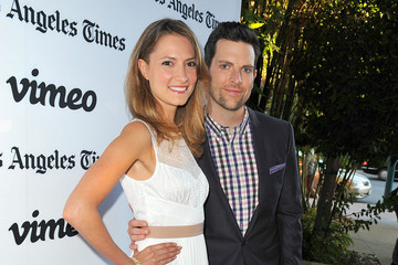 Chris Mann Laura Perloe 'Some Girl(s)' Premieres in Hollywood