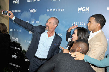 Chris Meloni WGN America Winter TCA 2016