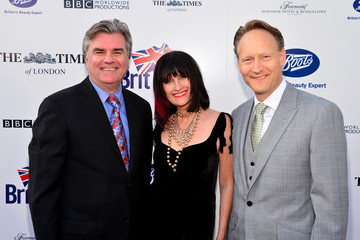 Chris O'Connor Sharon Harroun Peirce Arrivals at the BritWeek Launch Party