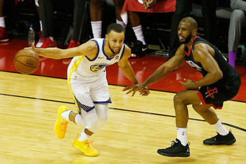 Chris Paul Stephen Curry Golden State Warriors vs. Houston Rockets - Game Five