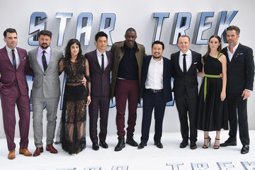 Chris Pine Zachary Quinto 'Star Trek Beyond' - UK Premiere - Red Carpet