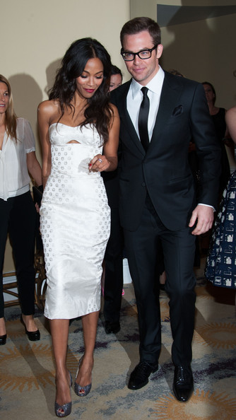Zoe Saldana And Chris Pine ... technical awards i...