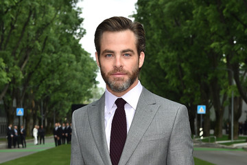 Chris Pine Giorgio Armani 40th Anniversary - Silos Opening And Cocktail Reception - Arrivals
