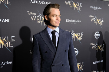 Chris Pine World Premier Of Disney's 'A Wrinkle In Time'