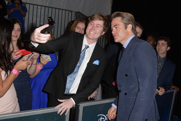 Chris Pine Premiere Of Disney's 'A Wrinkle In Time' - Red Carpet