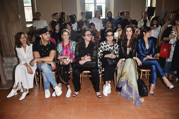 Chris Pitanguy Alberta Ferretti - Front Row - Milan Fashion Week SS17
