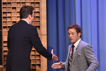 Chris Pratt Chris Pratt Visits 'The Tonight Show'