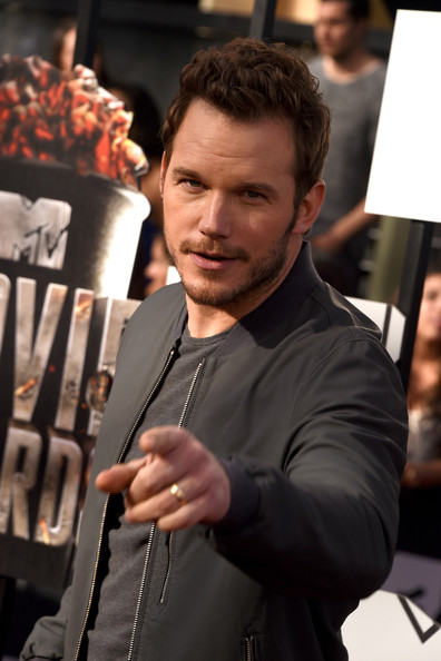 Chris Pratt Actor Chris Pratt attends the 2014 MTV Movie Awards at Nokia Theatre L.A. Live on April 13, 2014 in Los Angeles, California.