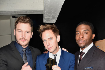 Chris Pratt Backstage at the 18th Annual Hollywood Film Awards