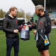 Chris Robshaw The Duke Of Sussex Attends A Terrence Higgins Trust Event Ahead Of National HIV Testing Week