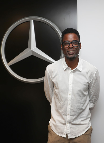 Chris Rock Enjoys The Mercedes-Benz VIP Suite At The US Open