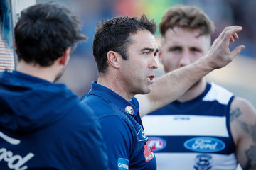 Chris Scott AFL Rd 19 - Geelong vs. Brisbane