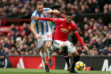 Chris Smalling Manchester United v Huddersfield Town - Premier League