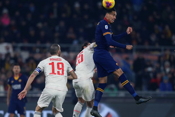 Chris Smalling AS Roma vs Juventus - Serie A