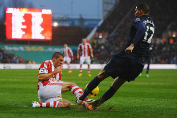 Chris Smalling Stoke City v Manchester United - Premier League