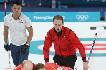 Chris Smith Curling - Winter Olympics Day 6