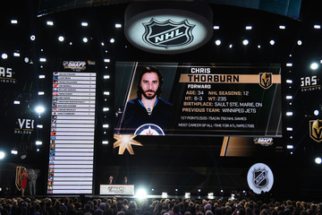 Chris Thorburn 2017 NHL Awards & Expansion Draft