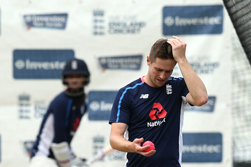 Chris Woakes England & West Indies Net Sessions