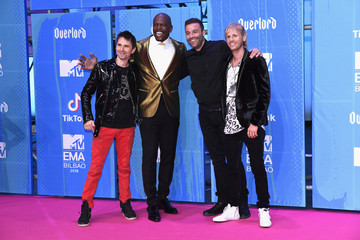 Chris Wolstenholme MTV EMAs 2018 - Red Carpet Arrivals