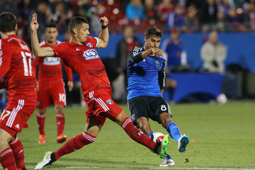 Chris Wondolowski San Jose Earthquakes v FC Dallas