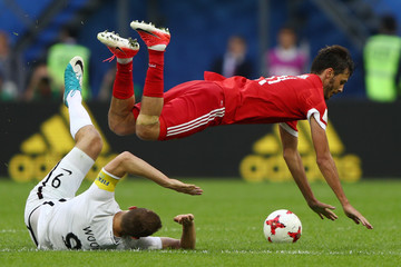 Chris Wood Russia v New Zealand: Group A - FIFA Confederations Cup Russia 2017