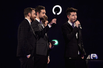 Chris 'Woody' Wood Kyle Simmons The BRIT Awards 2014 - Show