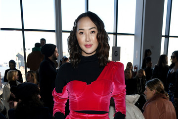 Chriselle Lim Self-Portrait - Front Row - February 2019 - New York Fashion Week