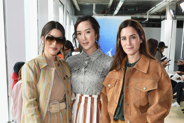 Chriselle Lim Tory Burch Fall Winter 2019 Fashion Show - Front Row
