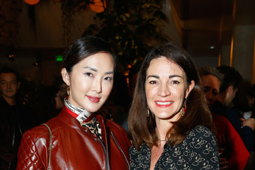 Chriselle Lim Linda Farrow Paris Fashion Week Dinner And After Party