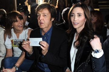 Chrissie Hynde Stella McCartney: Front Row - Paris Fashion Week Spring / Summer 2012