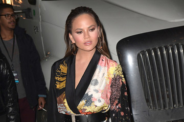Chrissy Teigen Sports Illustrated Swimsuit 2017 Launch Event - Outside Arrivals