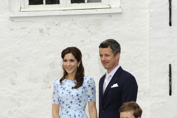 Prince Christian Christening of Prince Joachim and Princess Marie of Denmark's Daughter