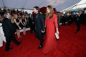 Christian Bale Sibi Bale 22nd Annual Screen Actors Guild Awards - Red Carpet