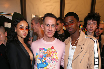 Christian Casey Combs Jeremy Scott - Backstage - February 2018 - New York Fashion Week: The Shows