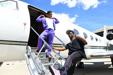 Christian Combs Justin Combs Justin Combs & Friends Fly Into Coachella With VOMOS and Cîroc