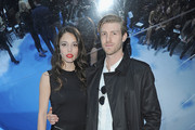 Chelsea Tyler (L) and companion Joe Foster attend the Christian Dior Fall/Winter 2013 Ready-to-Wear show as part of Paris Fashion Week on March 1, 2013 in Paris, France.