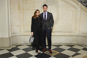 Olivia Palermo and Johannes Huebl attend the Christian Dior show as part of the Paris Fashion Week Womenswear Fall/Winter 2019/2020 on February 26, 2019 in Paris, France.