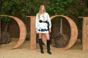 Romee Strijd attends the Christian Dior Womenswear Spring/Summer 2020 show as part of Paris Fashion Week on September 24, 2019 in Paris, France.