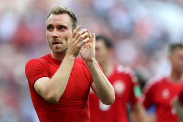 Christian Eriksen Denmark Vs. France: Group C - 2018 FIFA World Cup Russia