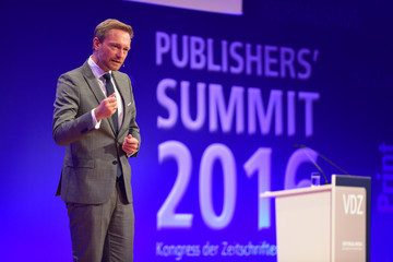 Christian Lindner VDZ Publishers' Summit - Day 1