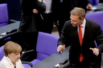 Christian Lindner New German Government Sworn In, Merkel Takes Fourth Term
