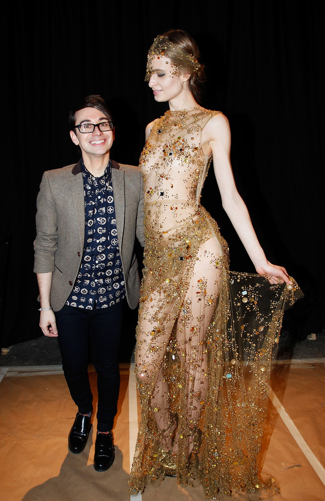 Christian Siriano Front Row Fall 2013 Mercedes Benz