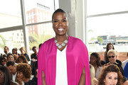 Leslie Jones at Christian Siriano - The Can't-Miss Front Row Fashion at NYFW Spring 2018