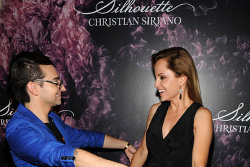 Christian Siriano Mena Suvari Christian Siriano Celebrates His New Fragrance With A Stoli Vodka Cocktail At The Designer's Pop-Up, Silhouette Shoppe, In The Meatpacking District