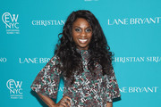 Television host Delaina Dixon attends the Christian Siriano x Lane Bryant Runway Show at United Nations on May 9, 2016 in New York City.