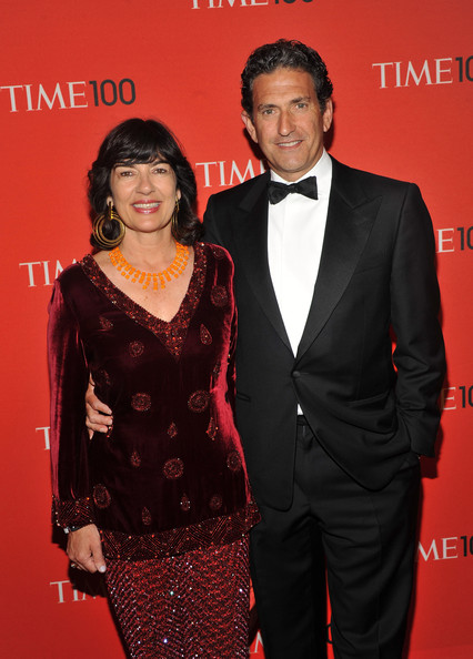 Christiane Amanpour and James Rubin at the TIME'S 100 Most Influential People Awards