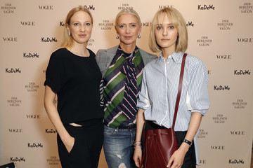 Christiane Arp KaDeWe & Vogue Celebrate Der Berliner Mode Salon in Berlin